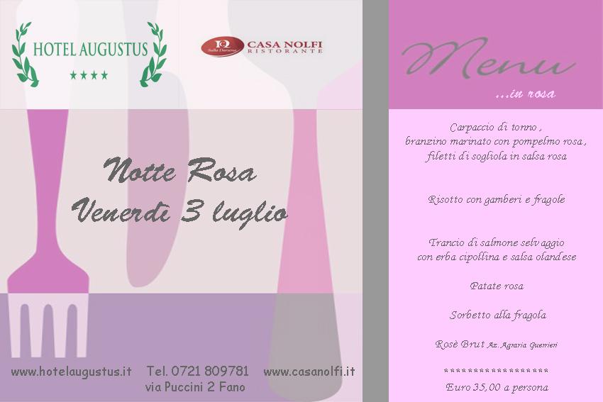 Notte Rosa 2015 a Fano