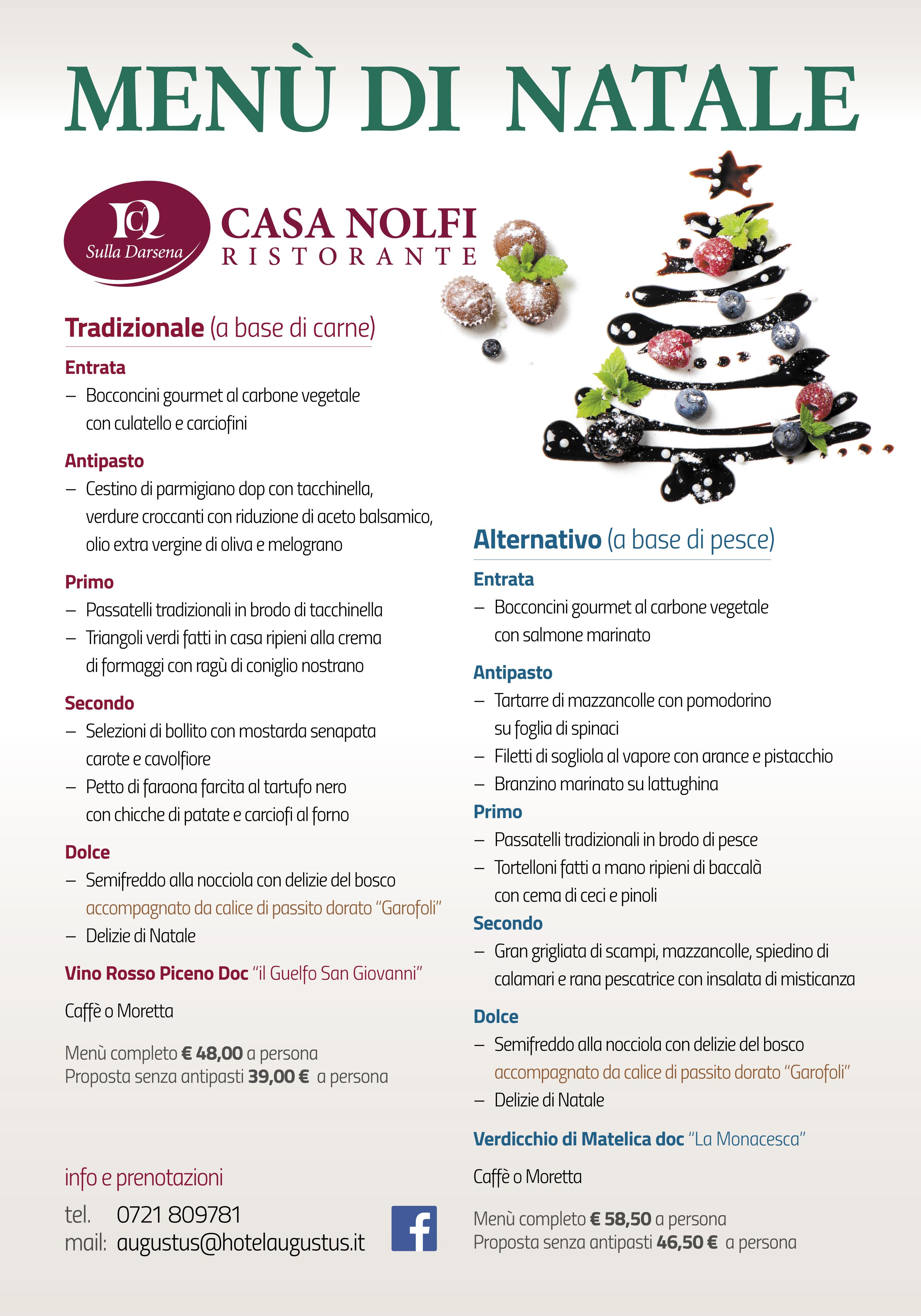 Antipasti Per Natale Di Carne.Menu Di Natale 2015 A Fano