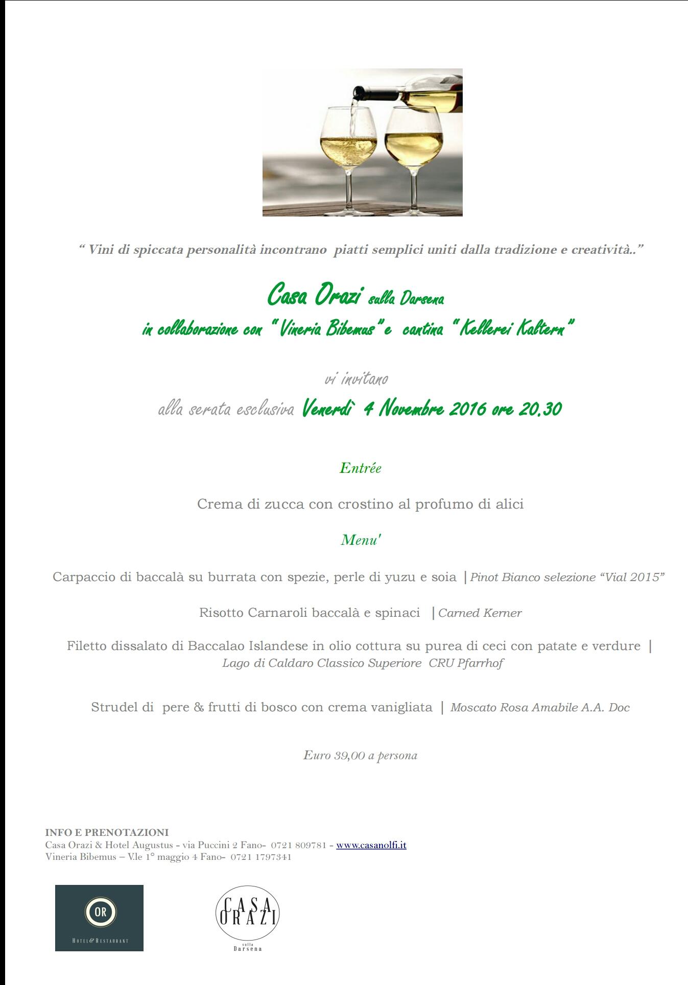 Casa Orazi sulla Darsena e Vineria Bibemus a Fano