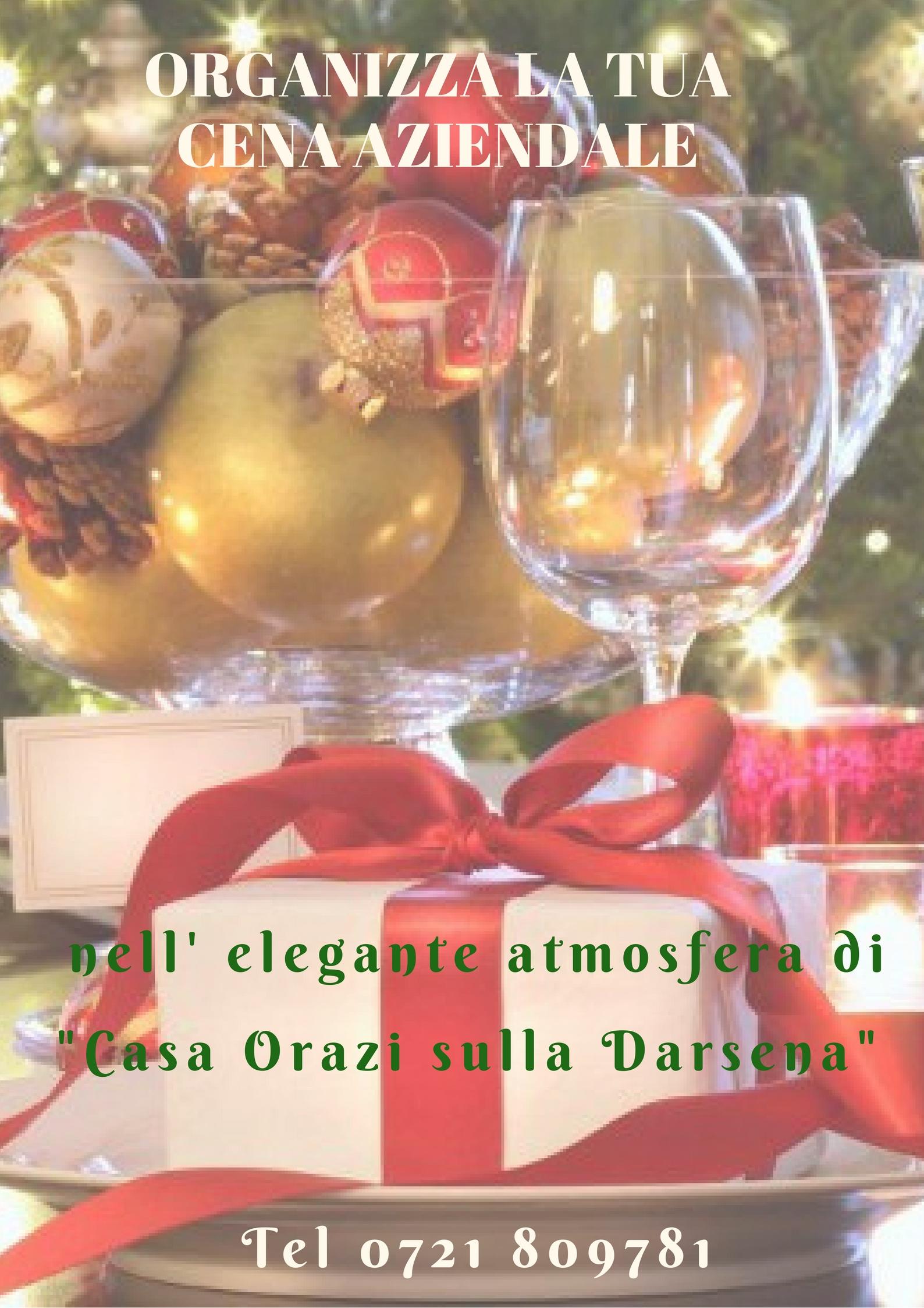 Cena Aziendale di Natale 2017 a Fano