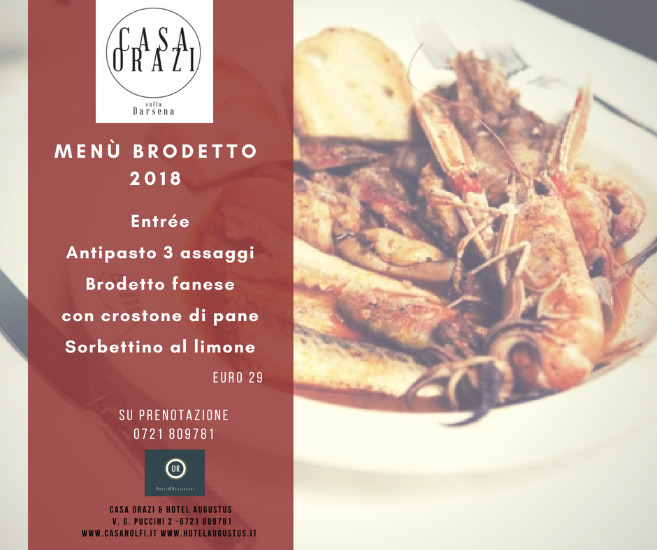 Menu' BRODETTO